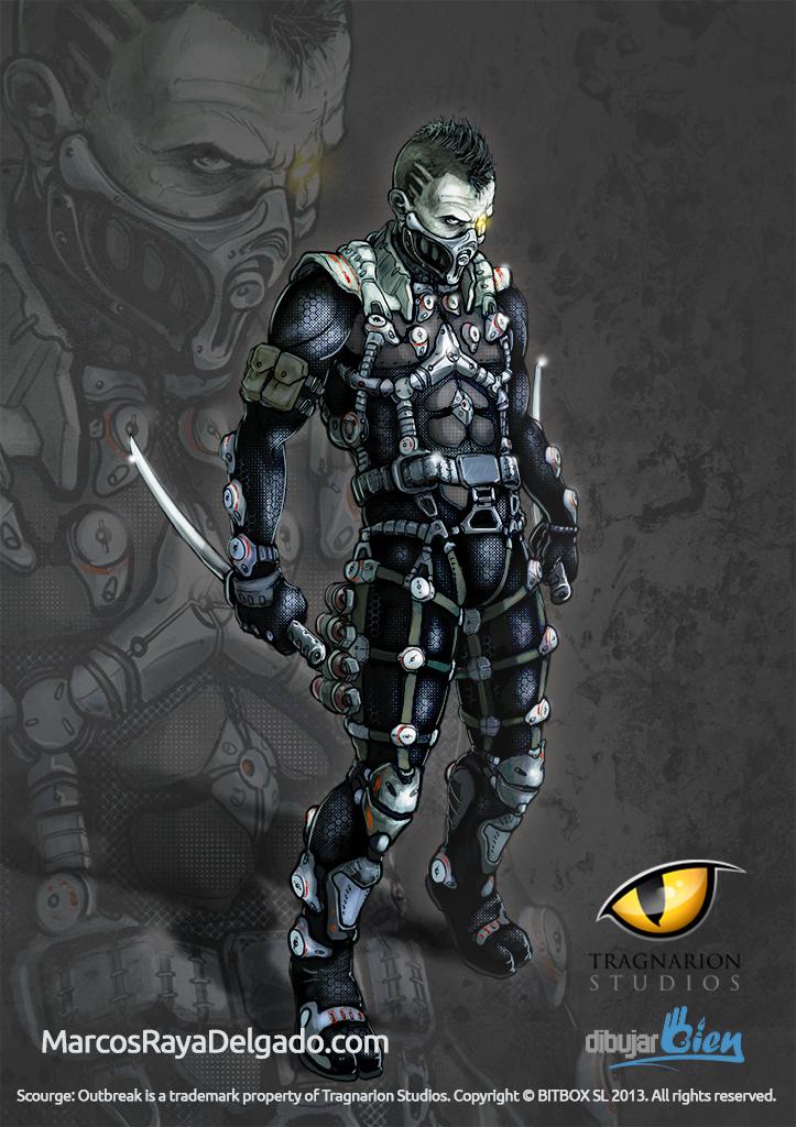 Shade El Ninja Asesino Scourge Outbreak Httpsdibujarbiencom